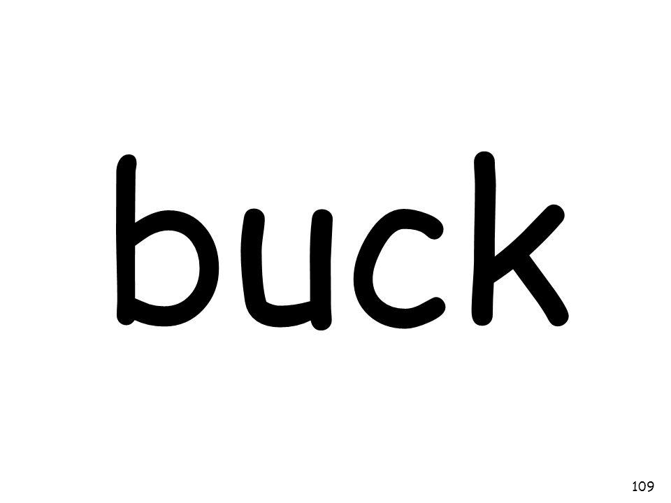 buck 109