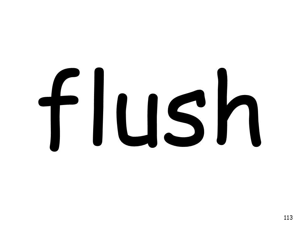 flush 113