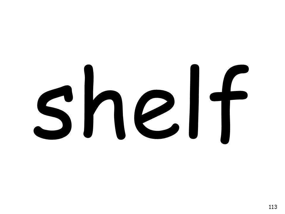shelf 113