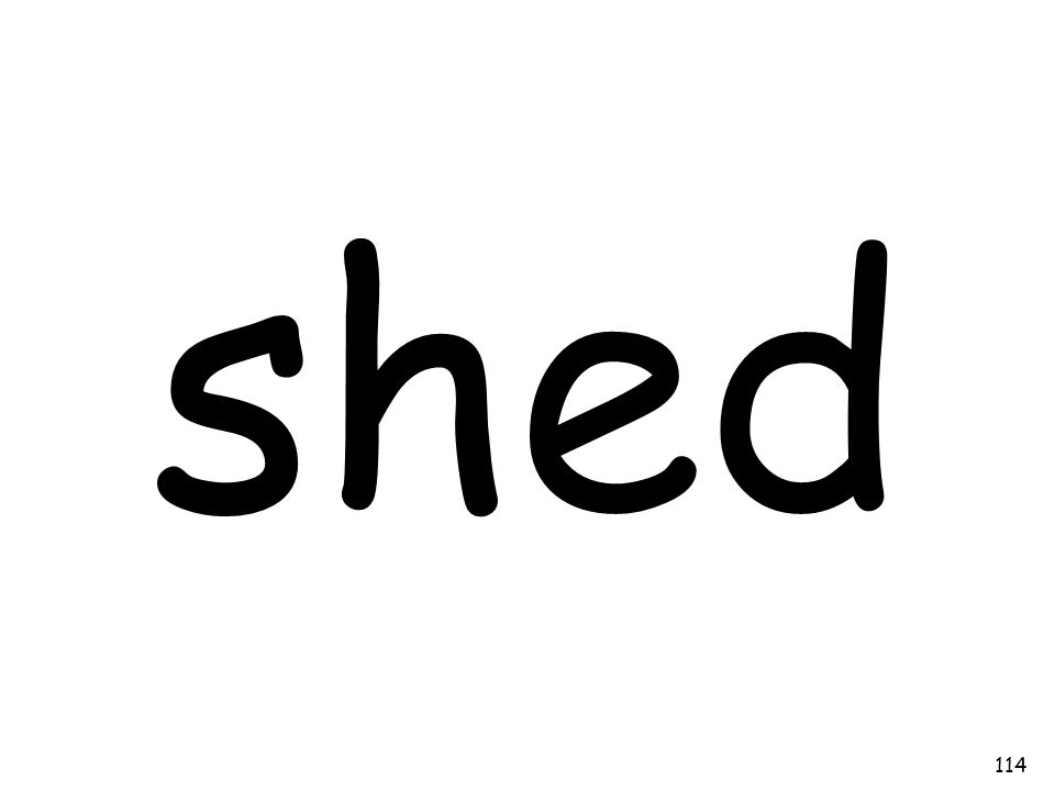 shed 114