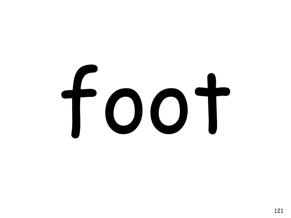 foot 121