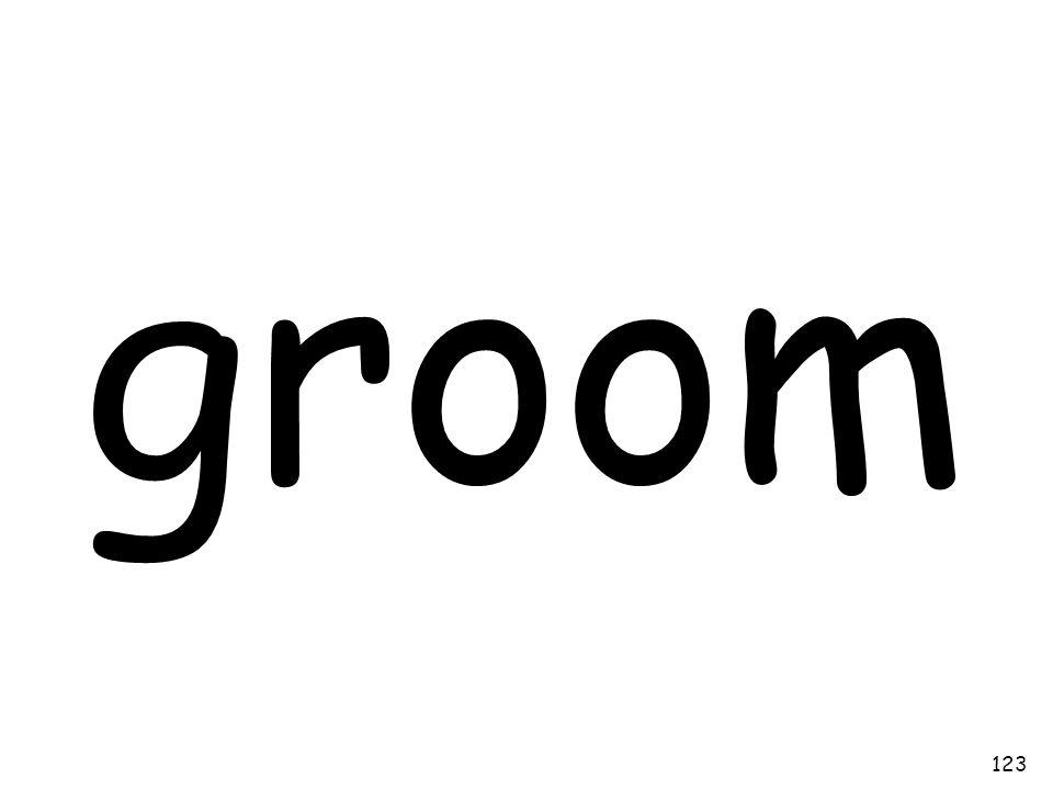 groom 123