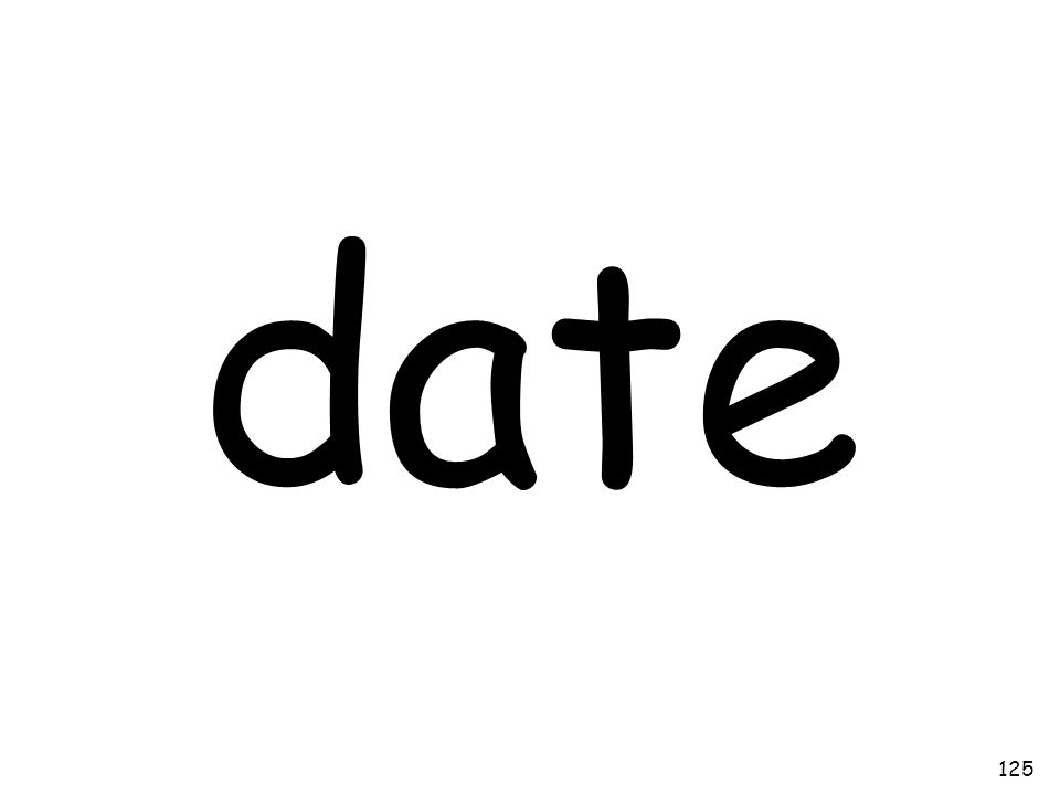 date 125