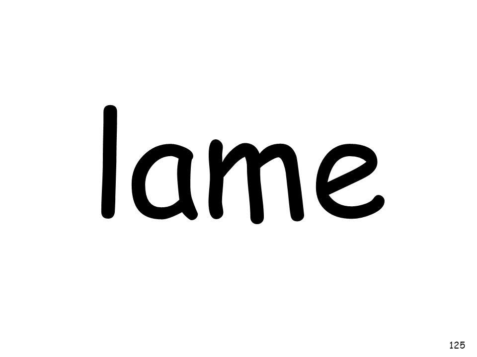 lame 125