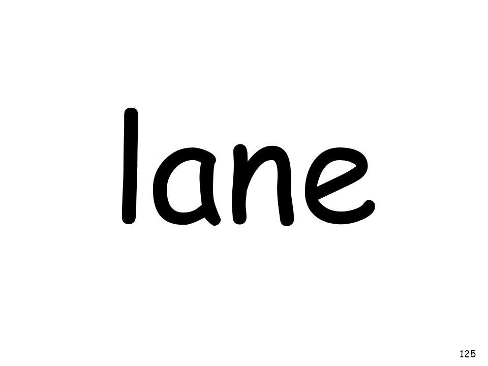 lane 125