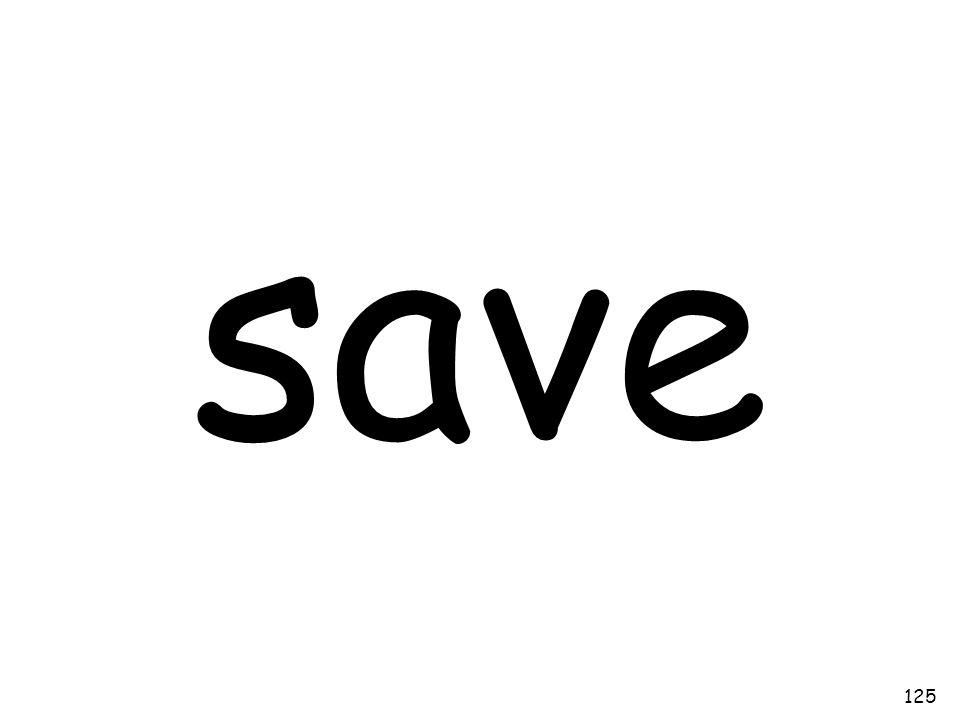 save 125