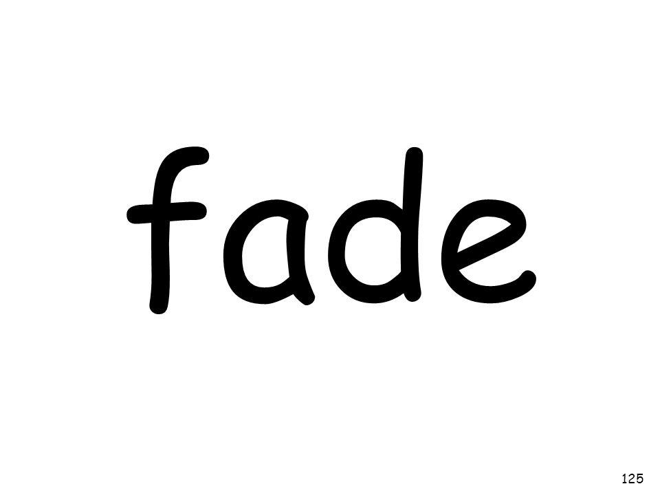 fade 125