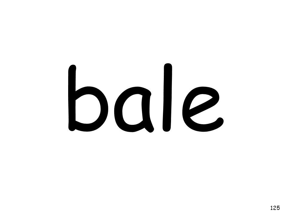 bale 125