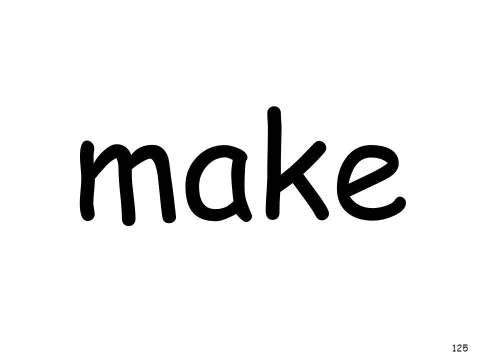 make 125
