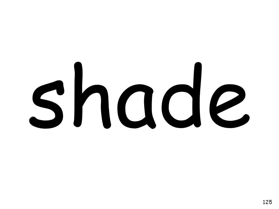 shade 125