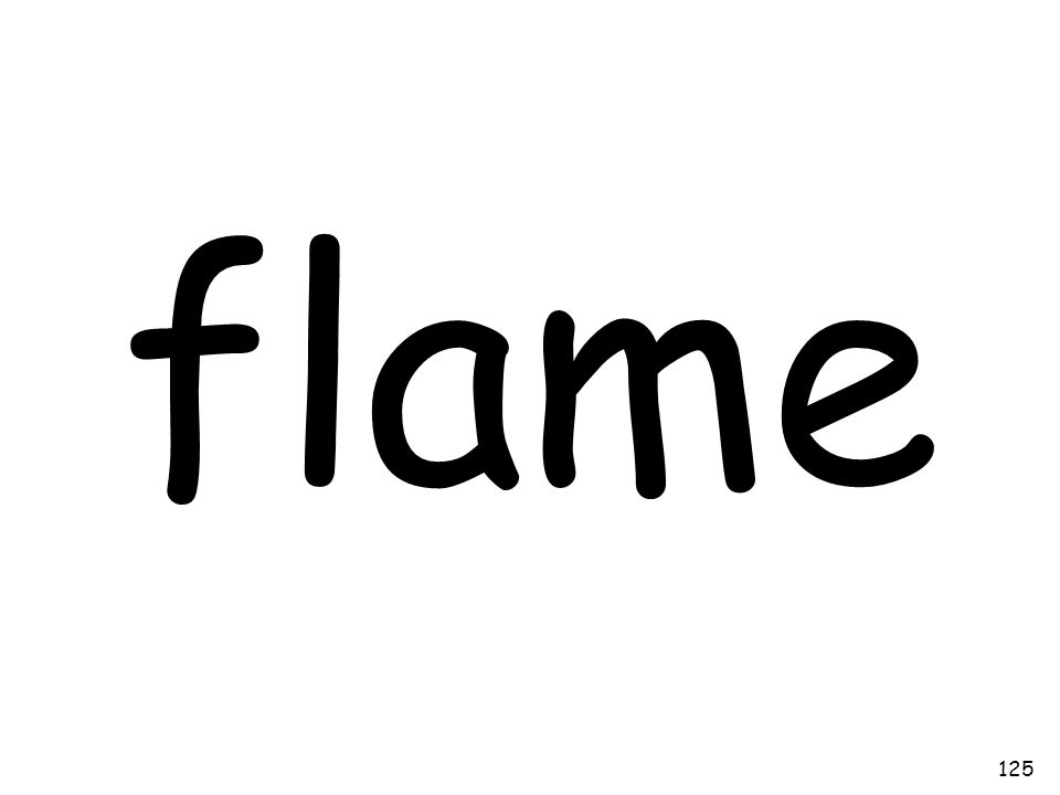 flame 125