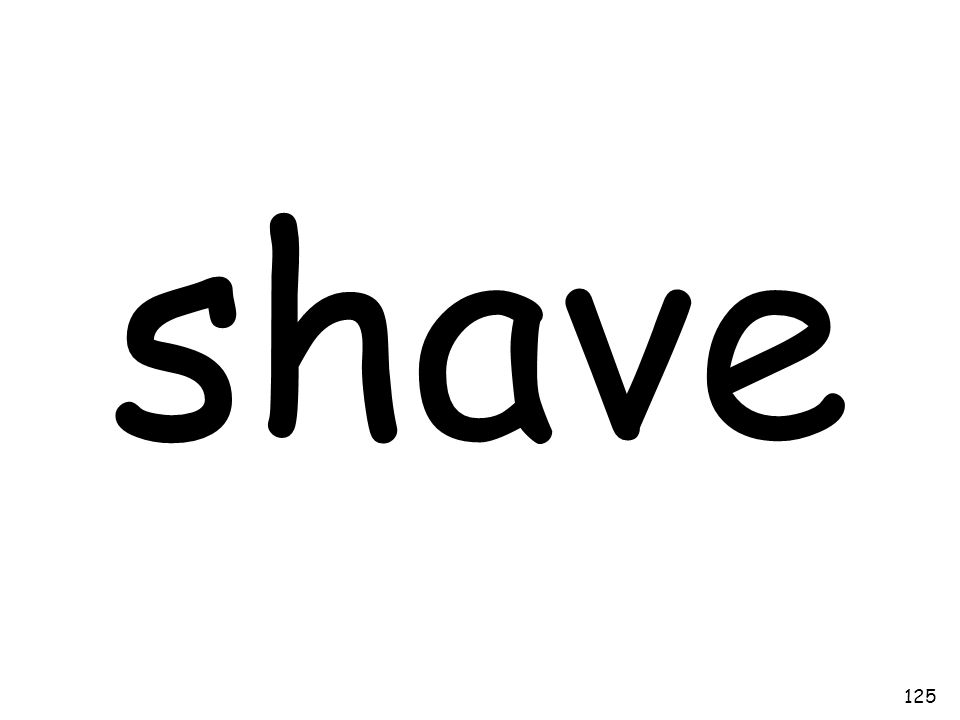 shave 125
