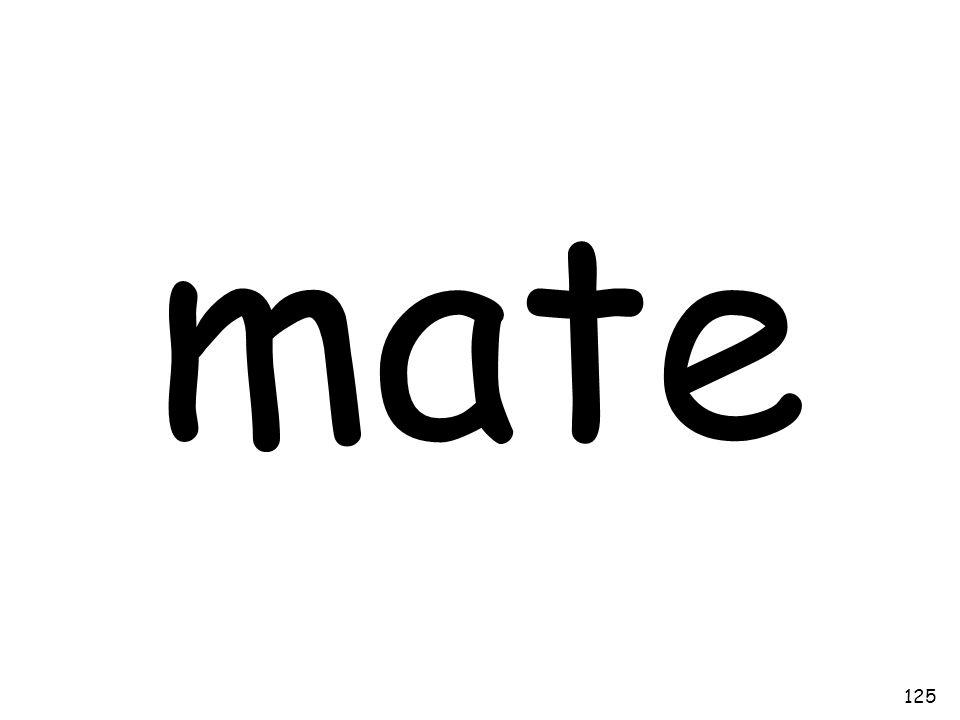 mate 125