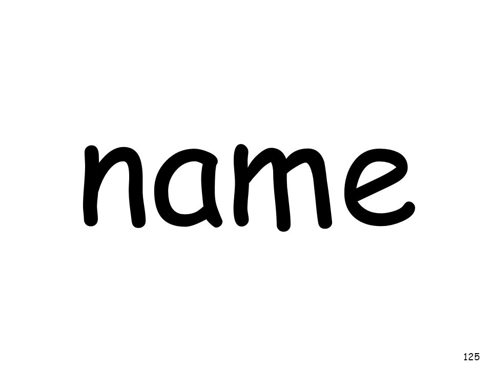 name 125