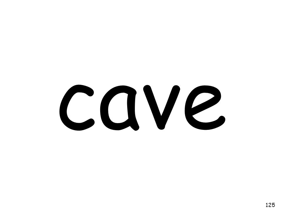 cave 125