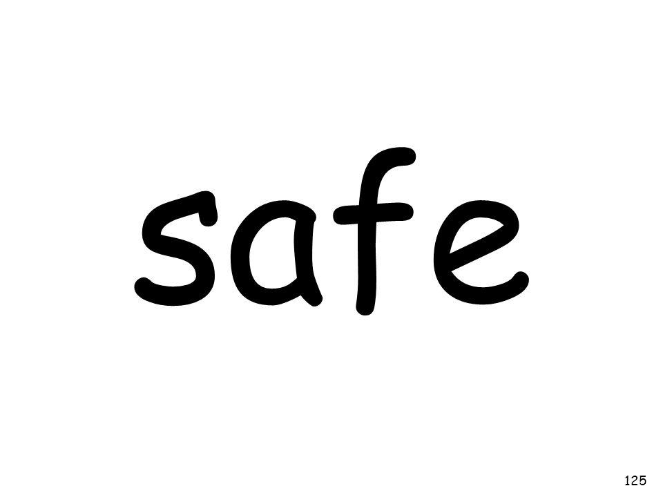 safe 125