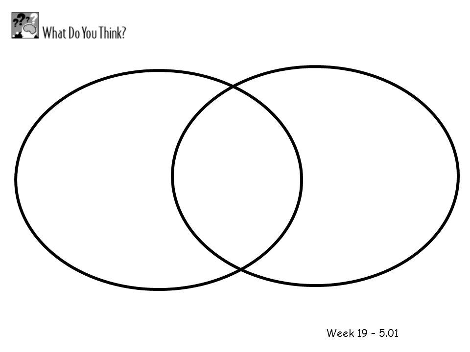 1 2 Week 19 – 5.01