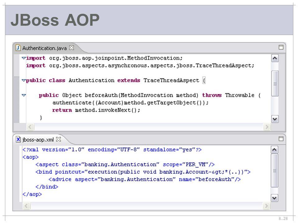 8..28 JBoss AOP