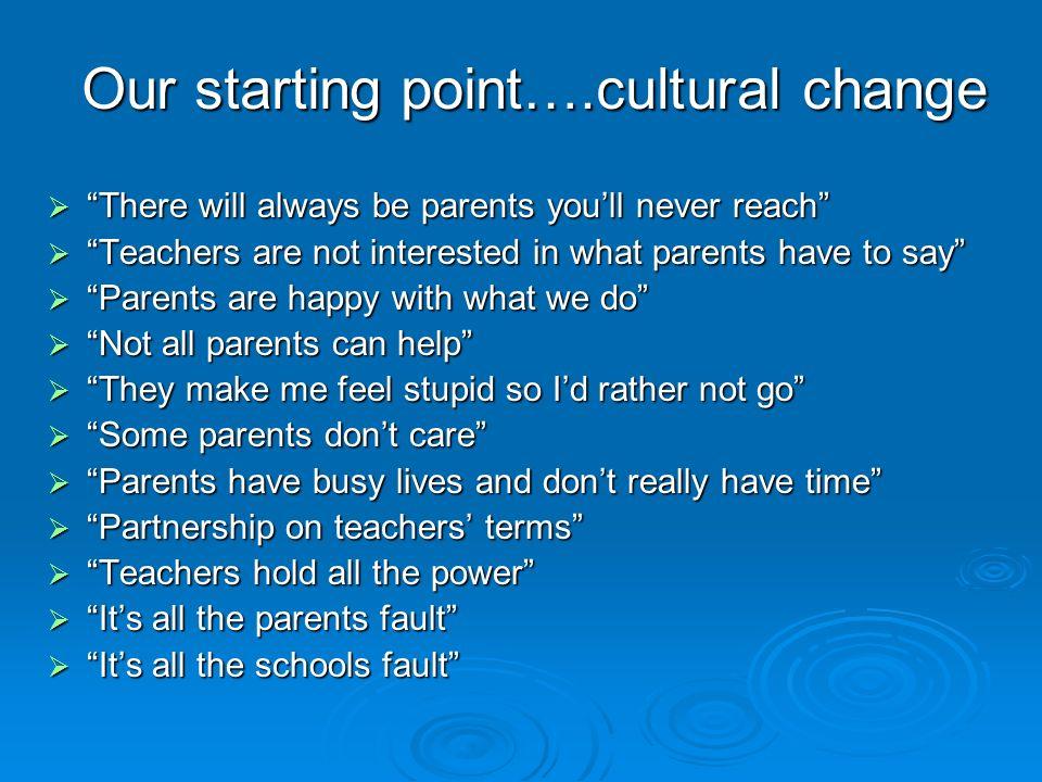 Parents skills
