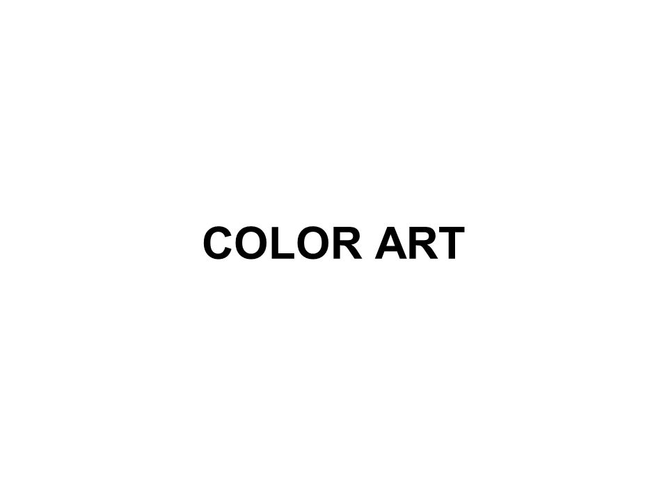 COLOR ART