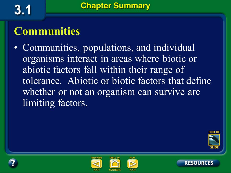 Section 2 Check The answer is D. Deserts are the driest biomes.