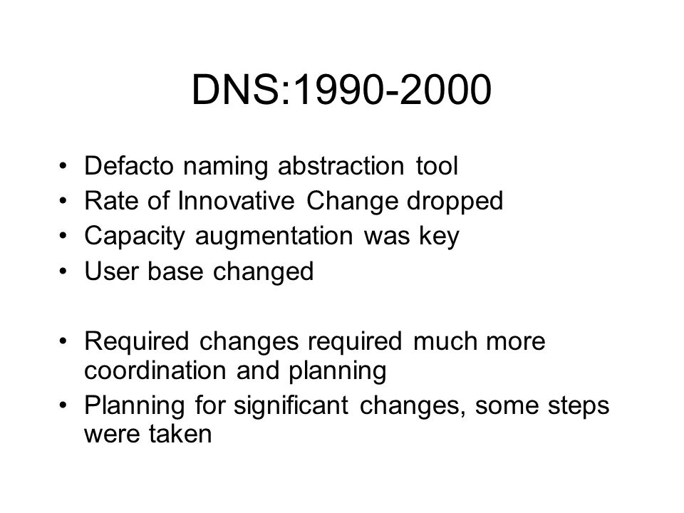 2001 -Stepping up to New Tasks Expanding system under given restraints.