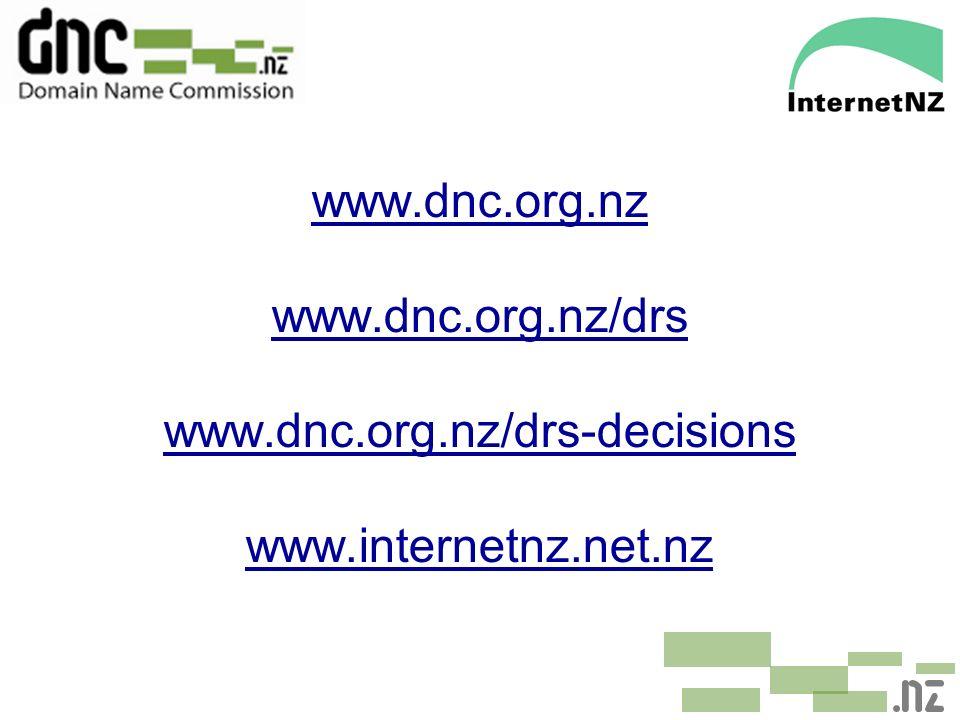 www.dnc.org.nz www.dnc.org.nz/drs www.dnc.org.nz/drs-decisions www.internetnz.net.nz