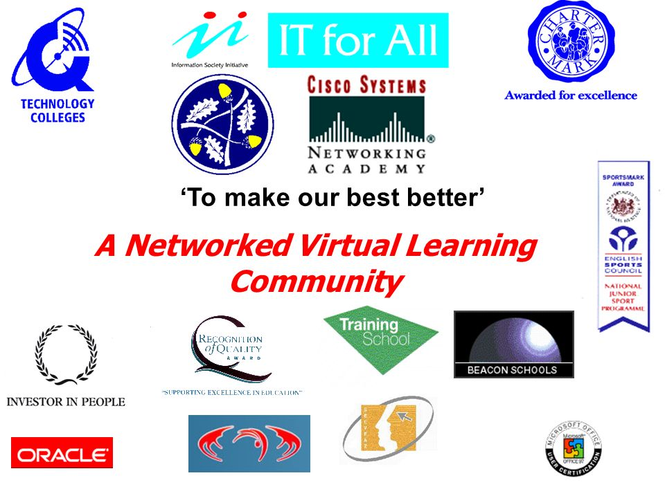 To make our best better A Networked Virtual Learning Community
