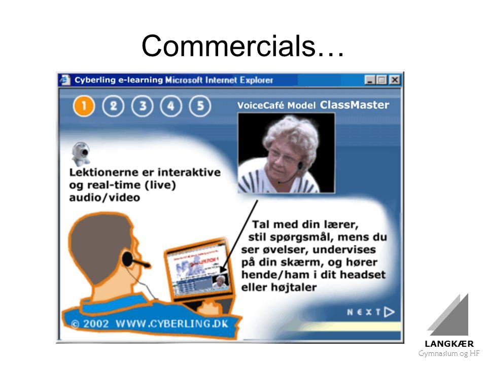 LANGKÆR Gymnasium og HF Commercials…