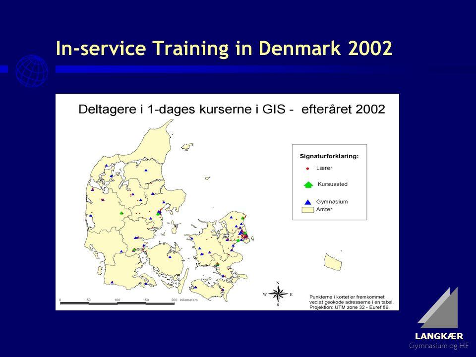 LANGKÆR Gymnasium og HF In-service Training in Denmark 2002