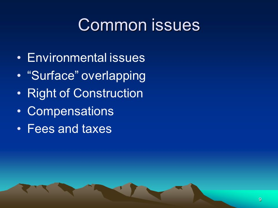 10 Environment Mining is environmental destructive Environment Regulation for Mining Environmental Impact Reports Inter-Ministerial Committees
