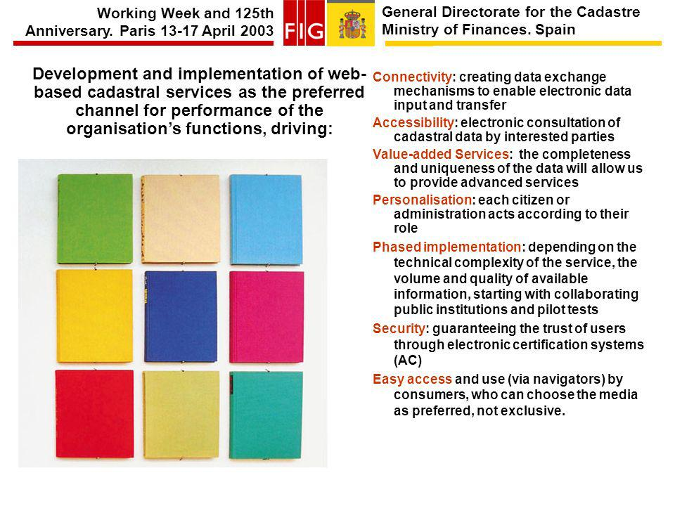 General Directorate for the Cadastre Ministry of Finances.