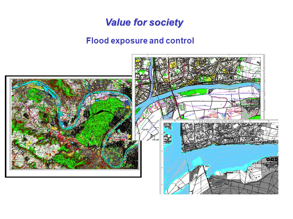 Value for society Flood exposure and control