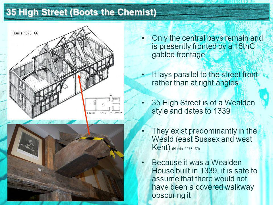 The effects of the dendro gap on Hampshire buildings We know church architecture moves from the elaborate decorated to the simpler perpendicular We see a desire for less cramped and cleaner living in art and iconography (Lindley 1996, 126) With a gap of nearly two generations, does the carpentry change.