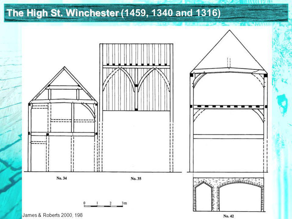 The High St. Winchester (1459, 1340 and 1316) James & Roberts 2000, 198