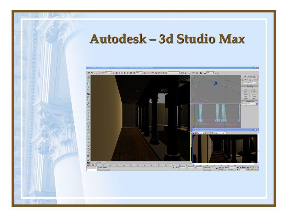 Autodesk – 3d Studio Max