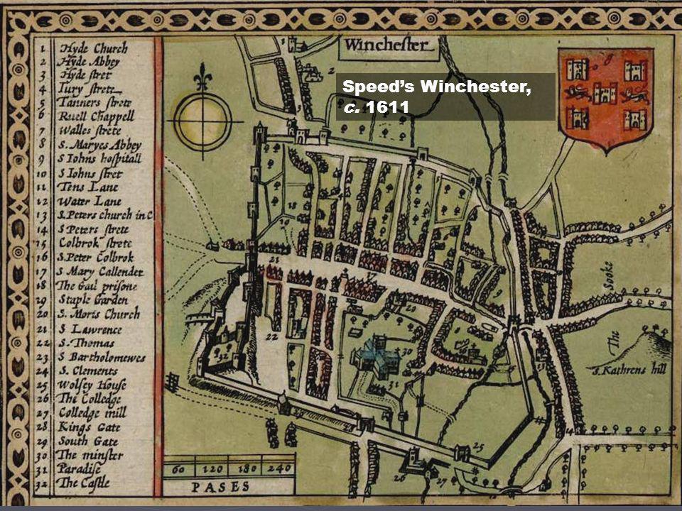 Speeds Winchester, c. 1611