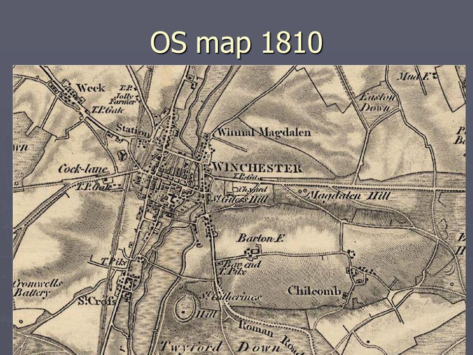 OS map 1810
