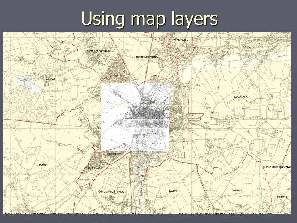 Using map layers