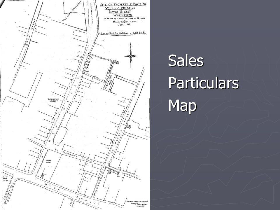Sales Particulars Map