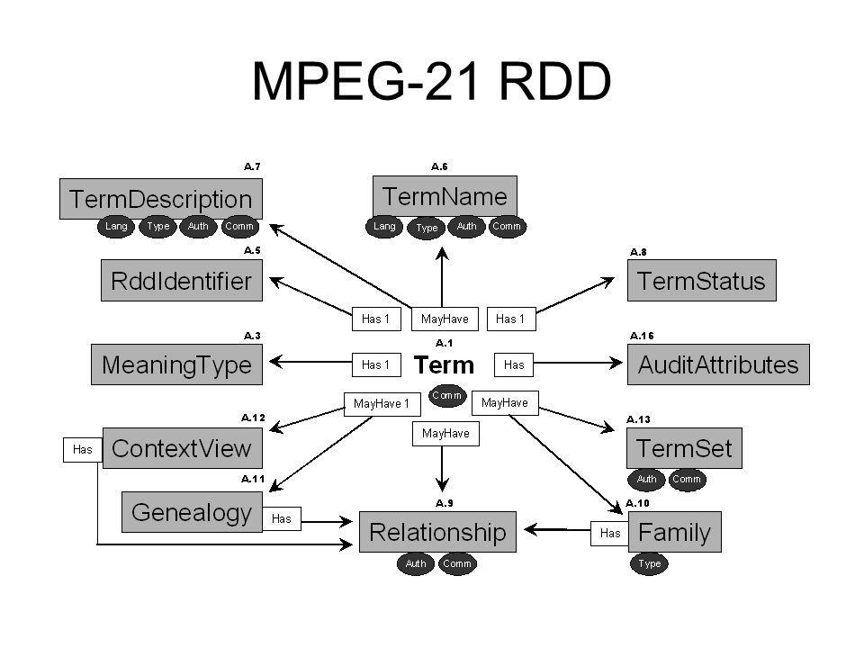 MPEG-21 RDD
