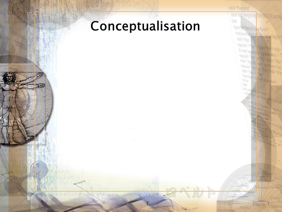 Conceptualisation