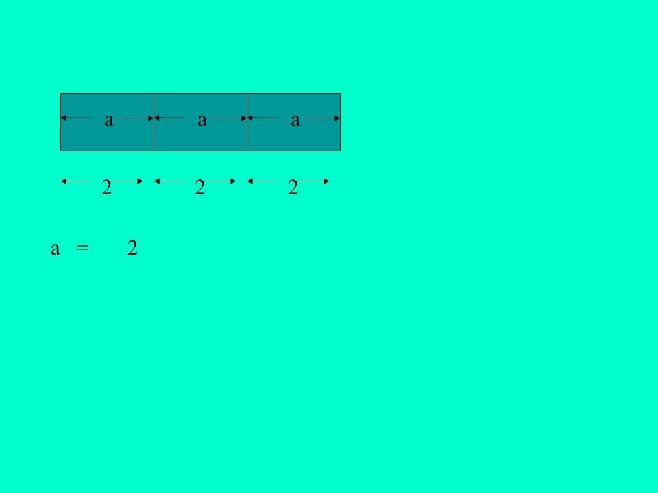 aaa a = 2 2 22