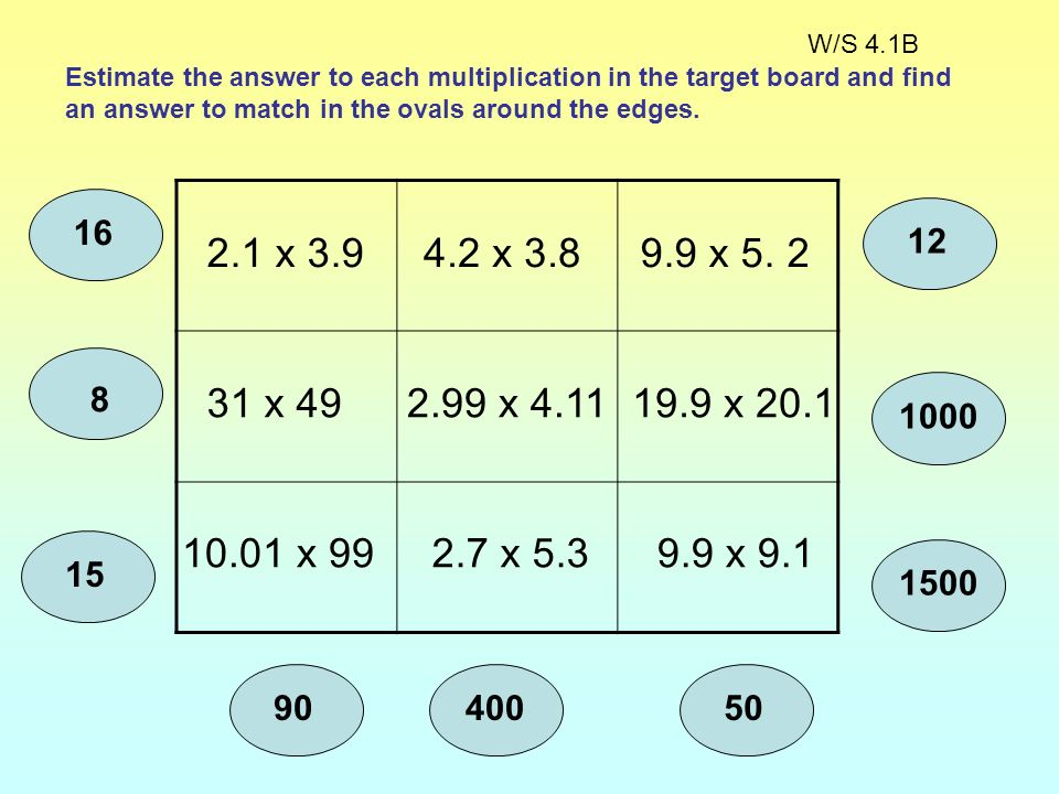 Objectives: Make and justify estimates and approximations to calculations. Use a calculator efficiently and effectively using BODMAS. Vocabulary: