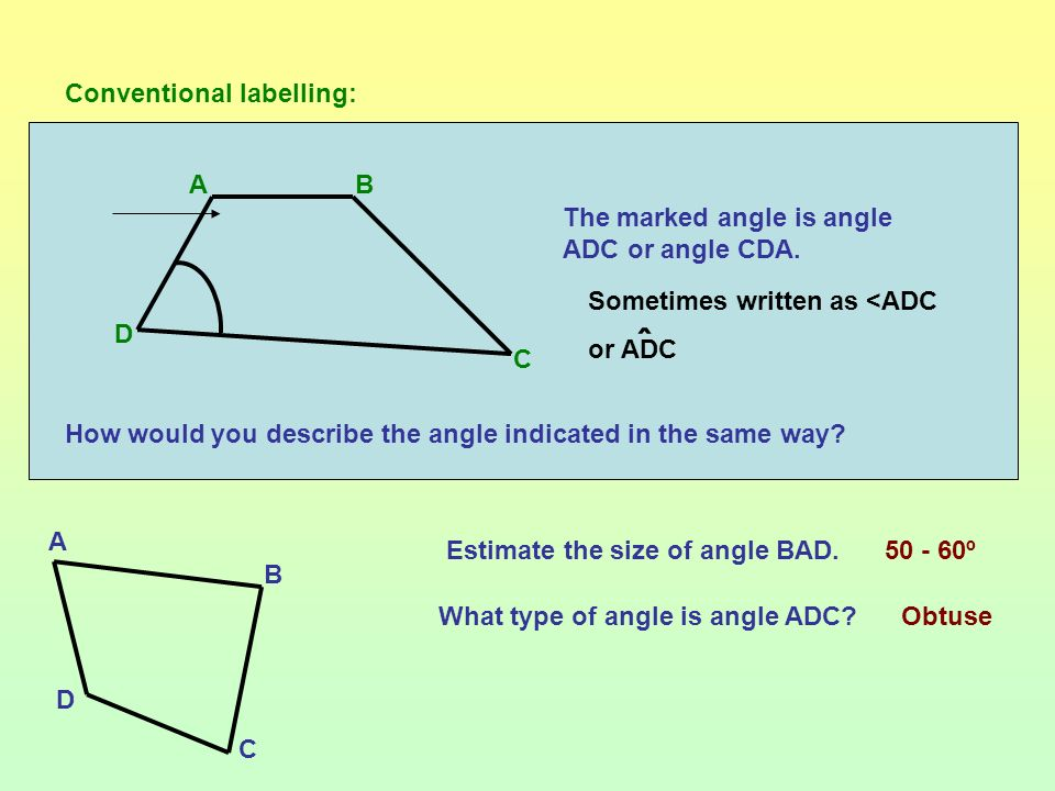 Which of these triangles contain a right angle?
