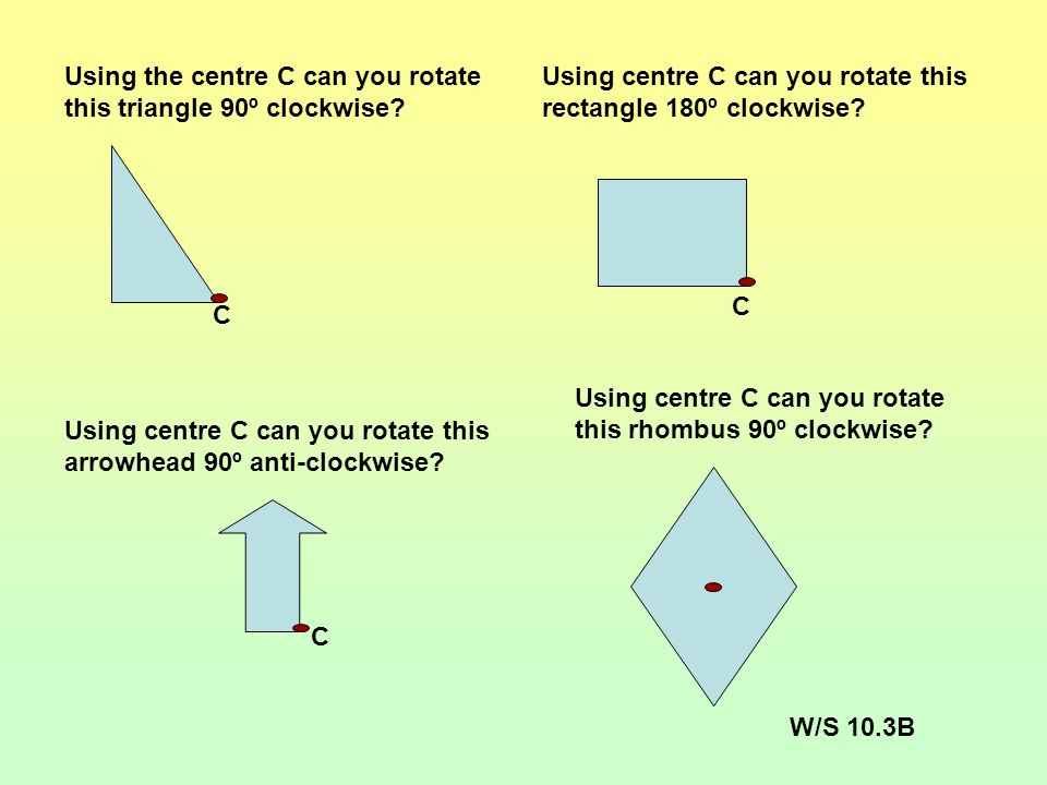 Did you reflect the shapes correctly? In exams at KS3 and KS4 you can use tracing paper to help you with questions about reflection.