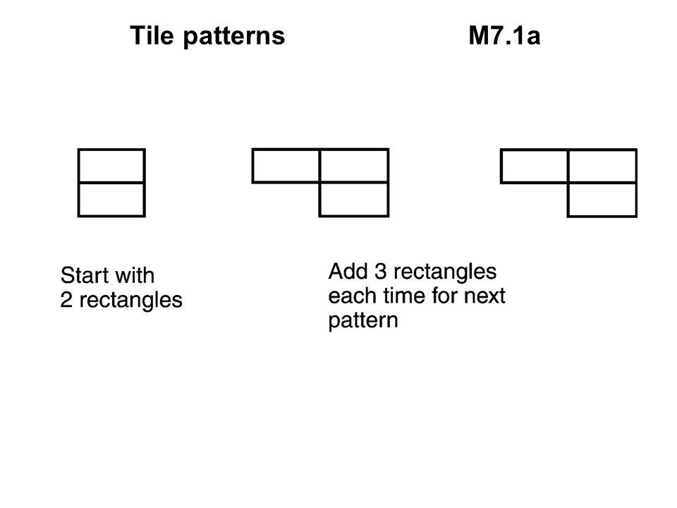 Tile patternsM7.1a