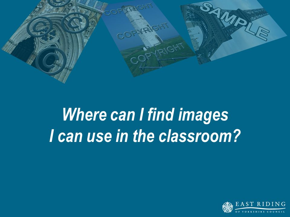 Where can I find images I can use in the classroom