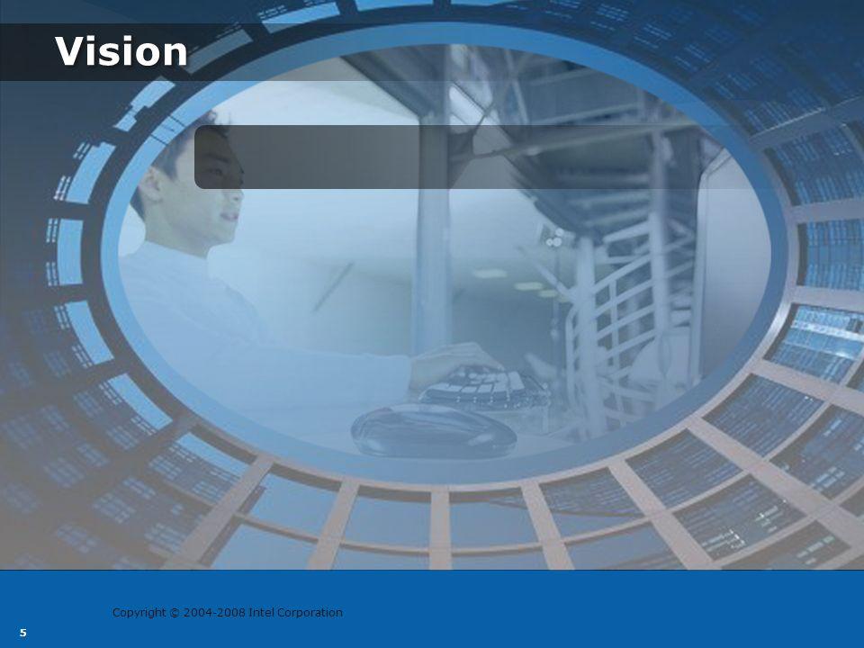 Copyright © 2004-2008 Intel Corporation 6 Vision Play