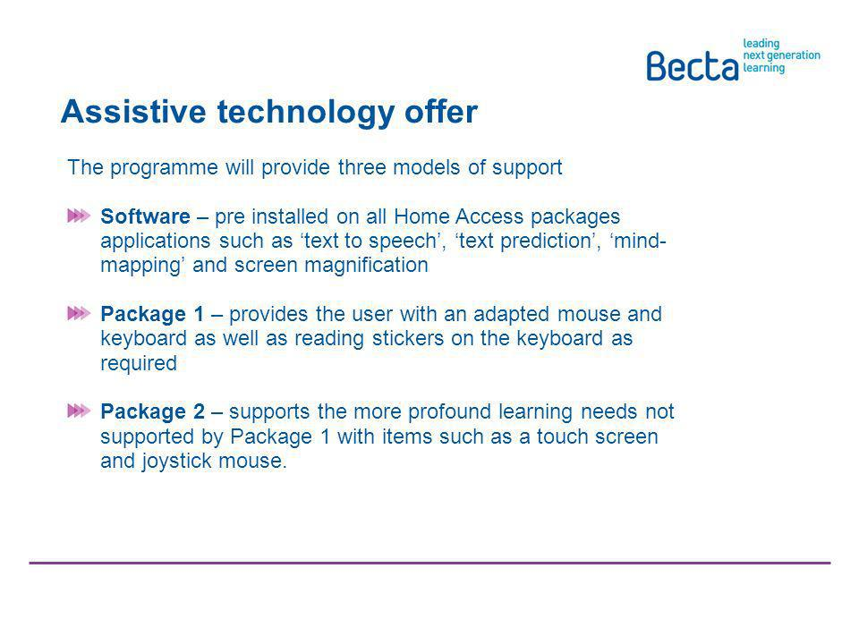 Communicating schools aggregation Schools aggregation pack will be available on request from 1 December from: www.becta.org.uk/homeaccess www.becta.or